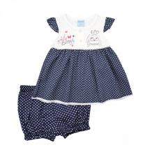 Купить nannette комплект для девочки (платье и шорты) 14-2977 14-2977