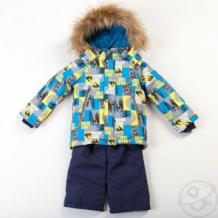 Купить комплект куртка/полукомбинезон batik дарк, цвет: синий ( id 9832329 )