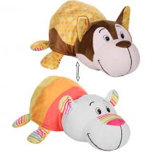 """Купить мягкая игрушка-вывернушка 1toy """"ням-ням"""" хаски с ароматом медовой глазури-полярный мишка с ароматом фруктового ( id 10465424 )"""