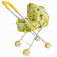 Купить коляска-люлька наша игрушка ромашки, желтый ( id 12617944 )