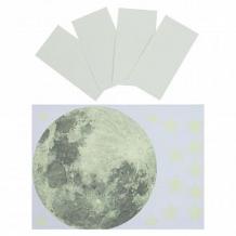 Купить набор светящихся наклеек freeze light луна и звезды ( id 10605869 )
