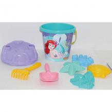 """Купить набор игрушек для песочницы полесье """"disney русалочка"""" № 6, 8 предметов"""