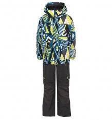 Купить комплект куртка/полукомбинезон gusti boutique, цвет: голубой ( id 3193700 )