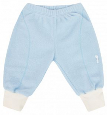 Купить брюки бамбук, цвет: голубой/белый ( id 7478755 )