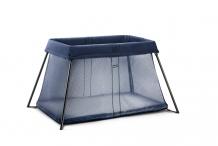 Купить складной манеж-кровать babybjörn travel crib light, цвет: пепельно-синий babybjorn 996892430