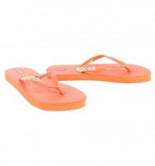 Купить шлепанцы forio, цвет: оранжевый ( id 9221029 )