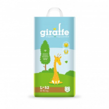 Купить подгузники lovular giraffe l, 8-15 кг, 52 шт lovular 997137127
