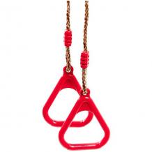 Купить гимнастические кольца kett-up на верёвках, красные ( id 10248493 )