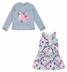 Комплект джемпер/платье Leader Kids Бьянка, цвет: серый ( ID 9093325 )