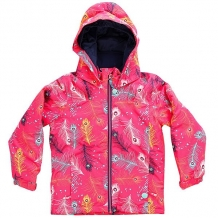 Купить куртка детская roxy mini jetty peterpan_paradise pi розовый 1160167