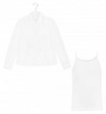 Купить блузка colabear, цвет: белый ( id 9398581 )