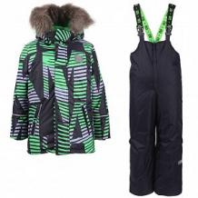 Купить комплект куртка/полукомбинезон stella's kids jammix, цвет: зеленый ( id 11261438 )