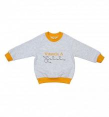 Купить джемпер lucky child витамин, цвет: оранжевый ( id 10447790 )