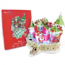 Купить cubic fun p646h кубик фан сказочный рождественский замок (с подсветкой)