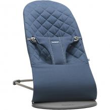 Купить кресло-шезлонг babybjorn bliss cotton синий ( id 5313198 )