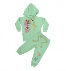 Купить комплект кофта/брюки babyglory spring forest, цвет: салатовый ( id 8517661 )