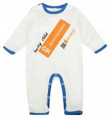Комбинезон Lucky Child, цвет: белый/синий ( ID 1116482 )