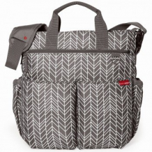 Сумка для мамы Skip Hop Duo Signature Grey Feather, серый Skip Hop 996967466