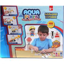 """Купить набор для творчества 1toy """"aqua pixels"""" большая стройка, 480 пикселей ( id 10325718 )"""