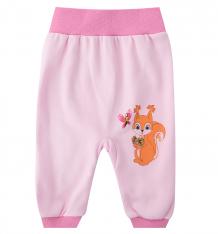 Купить брюки babyglory лесные жители, цвет: розовый ( id 8560177 )