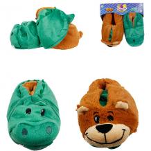 Купить вывертапки 1toy крокодил-медведь, 31-33 см 10591071