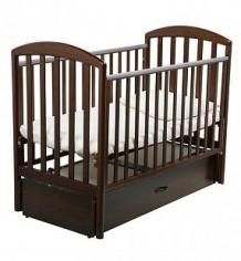Купить кровать papaloni джованни, цвет: орех шоколадный ( id 3480090 )