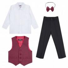 Купить комплект рубашка/жилет/брюки/галстук-бабочка rodeng бабочка, цвет: мультиколор ( id 11046854 )