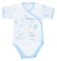 Купить боди gamex teddy bear, цвет: белый/голубой 5975