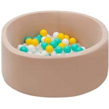 """Купить сухой бассейн hotenok """"ванильная дискотека"""" 40 см, 200 шариков ( id 9633786 )"""