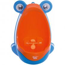 Купить детский писсуар на присосках roxy-kids лягушка, оранжево-голубой ( id 6895386 )
