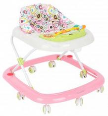 Купить ходунки capella bg-0619, цвет: розовый/белый ( id 559542 )
