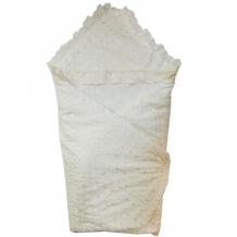 Купить папитто конверт - одеяло кружевной на липучке 92х92 синтепон 33170