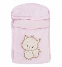Купить leader kids конверт бельчонок, цвет: розовый ( id 4767019 )