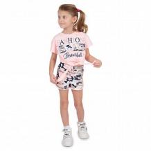 Купить футболка leader kids камуфляж, цвет: розовый ( id 11270330 )