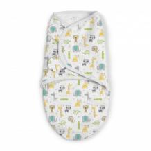 Купить конверт на липучке summer infant swaddleme, размер s m, ellie summer infant 997050044