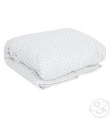 Одеяло Leader Kids 140 х 110 см, цвет: белый/голубой ( ID 6604951 )