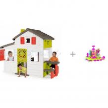 Купить smoby домик для друзей с кухней и фабрика печенья