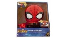 Купить часы марвел (marvel) будильник bulbbotz infinity wars минифигура spider-man 14 см 2021692