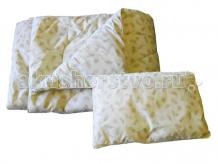 Купить одеяло папитто + подушка (синтетический заменитель лебяжего пуха) п-01-02