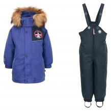 Купить комплект куртка/комбинезон лайки, цвет: синий ( id 7464751 )