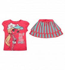 Комплект футболка/юбка Pelican, цвет: розовый ( ID 2685461 )