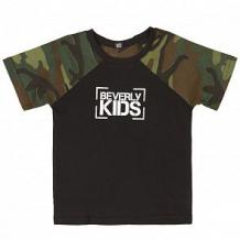 Купить футболка beverly kids, цвет: черный ( id 11998636 )