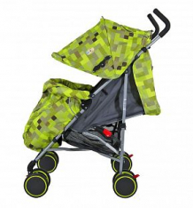 Купить коляска-трость tizo smile, цвет: зеленый ( id 2675417 )