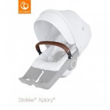 Купить бампер для прогулочного блока stokke, коричневый stokke 997013377