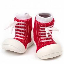 Купить пинетки attipas, цвет: красный ( id 12171430 )