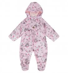 Купить bony kids комбинезон-трансформер трансформер, цвет: розовый llf187019k