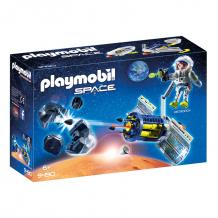 Купить конструктор playmobil космос: спутниковый метеороидный лазер 9490pm