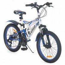 Купить велосипед n.ergo g20s650n, цвет: белый/синий ( id 12755836 )