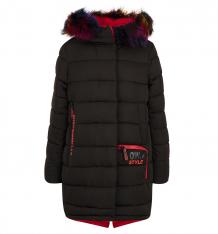 Купить пальто fobs, цвет: черный ( id 9816750 )