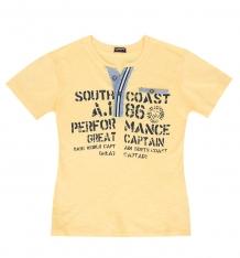 Купить футболка tuffy, цвет: желтый ( id 9890238 )